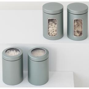 Brabantia Opbevaringsdåse 1,4L, metallic mint