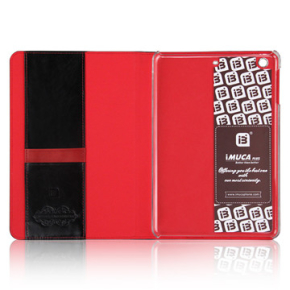 iM lædercover til iPad Mini 2/3, sort