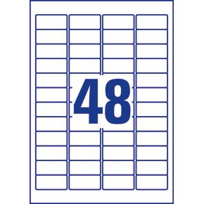 Avery L4778Rev-20 stærke etiketter, 45,7 x 21,2mm