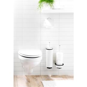Brabantia Toiletbørste og -holder, pure white