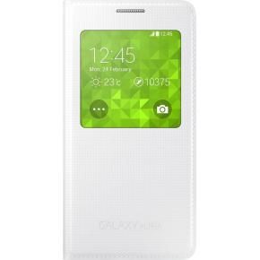 Samsung S-View Cover til Galaxy Alpha, hvid