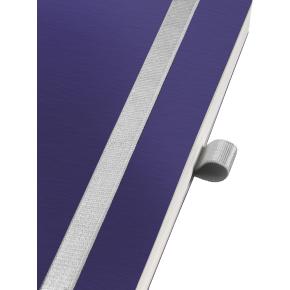 Leitz Style Notesbog A5, linjeret, blå