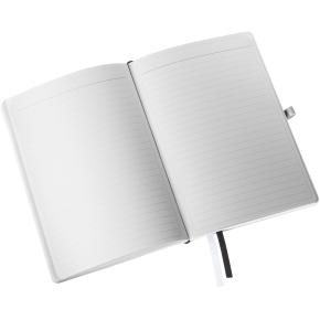Leitz Style Notesbog A5, linjeret, sort
