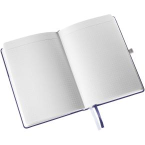 Leitz Style Notesbog A5, kvadreret, blå