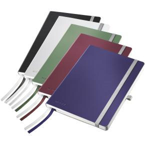 Leitz Style Notesbog A5, kvadreret, sort