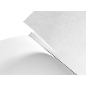 Leitz Style Notesbog A6, linjeret, hvid