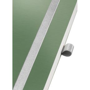 Leitz Style Notesbog A6, linjeret, grøn