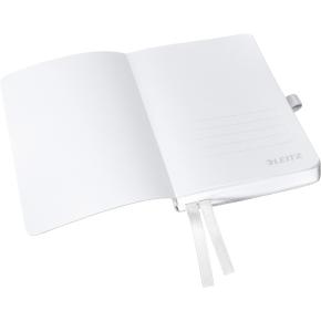 Leitz Style Notesbog A6, kvadreret, hvid