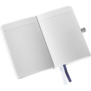 Leitz Style Notesbog A6, kvadreret, blå