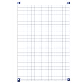 Oxford SOS Easy Notesbog A4, kvadreret, ass.