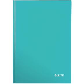 Leitz WOW notesbog A4, linjeret, isblå