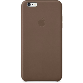 Apple iPhone 6/6S Plus bagcover, læder, brun