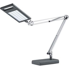 LED 4 Work lampe aluminium/antracit med bordfod