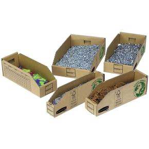 Bankers box (LxBxH) 306x84x104 mm 50 stk.