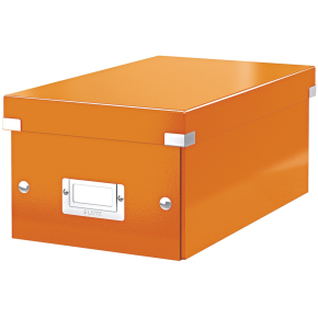 Leitz WOW Click & Store DVD-boks, orange