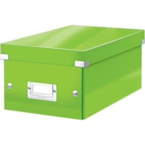 Leitz WOW Click & Store DVD-boks, grøn