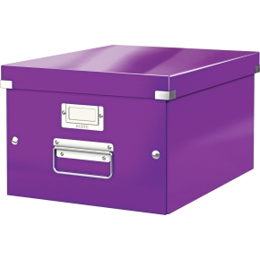 Leitz Click & Store opbevaringsboks medium, lilla