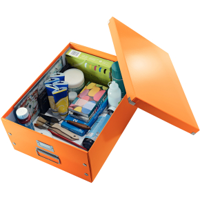 Leitz Click & Store opbevaringsboks large, orange