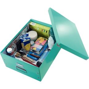 Leitz Click & Store opbevaringsboks large, isblå