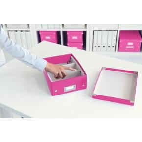 Leitz Click & Store Organizer boks lille, pink