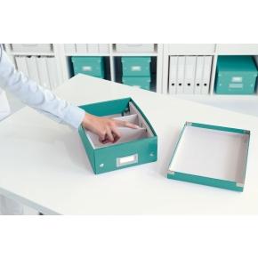 Leitz Click & Store Organizer boks lille, isblå