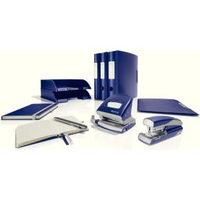 Leitz Style brevordner 60 mm, blå