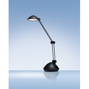 LED Space bordlampe i mat sort inkl. bordfod