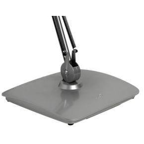 Luxo Split bordfod højglans sølvfarvet