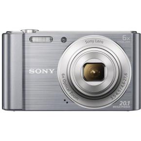 Sony DSCW810S digital kamera, sølv