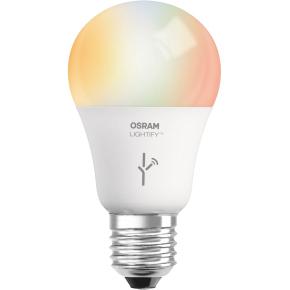 Osram Lightify LED Standardpære RGBW E27, 9,5W=60W