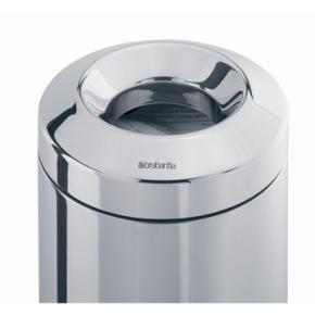 Brabantia Flameguard Affaldsspand, 7L, mat stål