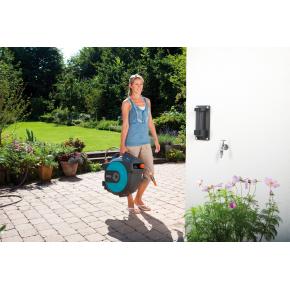 Gardena Comfort vægslangeboks automatic, 25 m