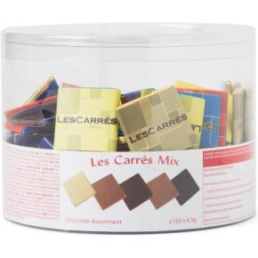Les Carrés chokolademix, 150 stk. ass.