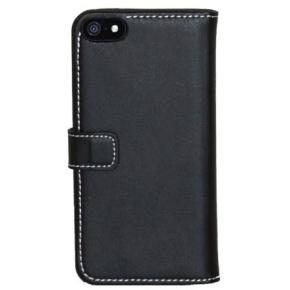 Insmat Exclusive Flip Case iPhone 5/SE, sort
