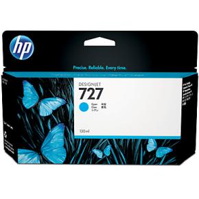 HP nr. 727/B3P19A cyan, 130 ml