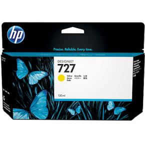 HP nr. 727/B3P21A gul, 130 ml