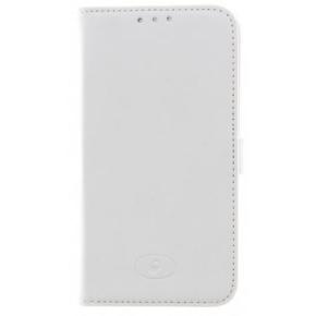 Insmat Exclusive Flip Case Galaxy S6, hvid