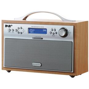 Scansonic DA-88 DAB-radio, ahorn