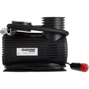 Rawlink luftpumpe, 12v m/ 3 løse nipler