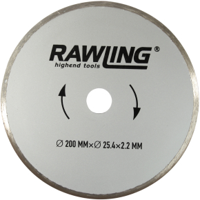 Rawlink diamantklinge, 200 mm