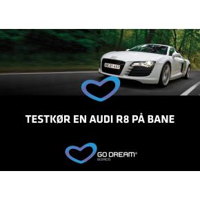 Oplevelsesgave - Testkør en Audi A8 på bane
