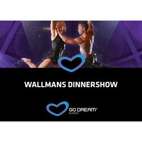Oplevelsesgave - Wallmans dinnershow