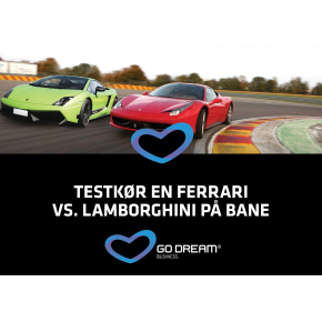 Oplevelsesgave - Testkør en Ferrari/Lamborghini