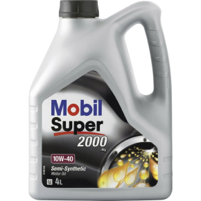 Mobil motorolie 10w-40, 4 l