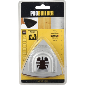Probuilder sandpapir, 25 stk. ass.