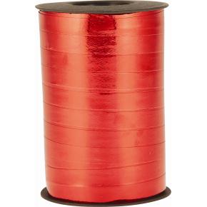 Gavebånd Metallic Rød 10 mm, 250 m