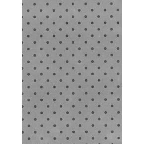 Gavepapir Dots Sølv, 57 cm x 100 m