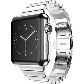 Hoco Lænke til Apple Watch, 42mm, silver
