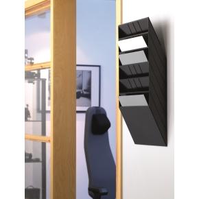 Durable Flexiboxx blanketholder, vandret, sort