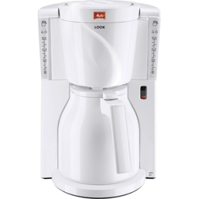 Melitta Look IV Therm basic kaffemaskine, hvid